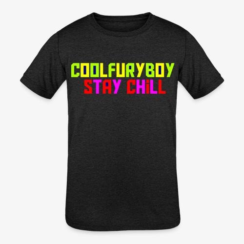CoolFuryBoy - Kids' Tri-Blend T-Shirt