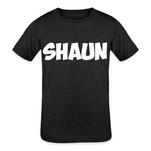 Shaun Logo Shirt - Kids' Tri-Blend T-Shirt