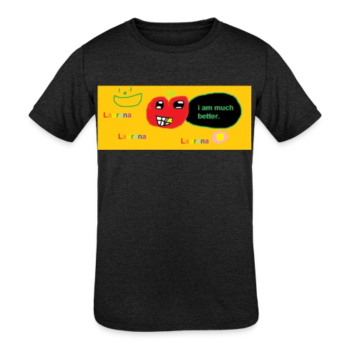 pechy vs apple - Kids' Tri-Blend T-Shirt