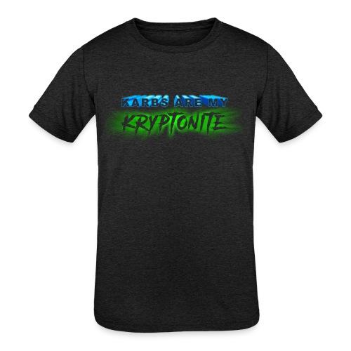 Karbs Are My Kryptonite - Kids' Tri-Blend T-Shirt