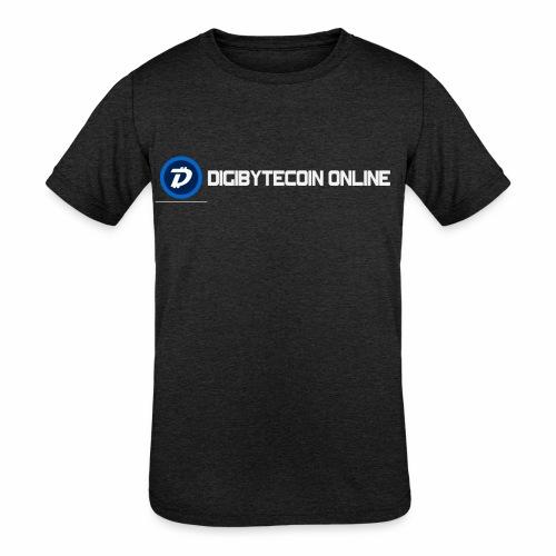 Digibyte online light - Kids' Tri-Blend T-Shirt