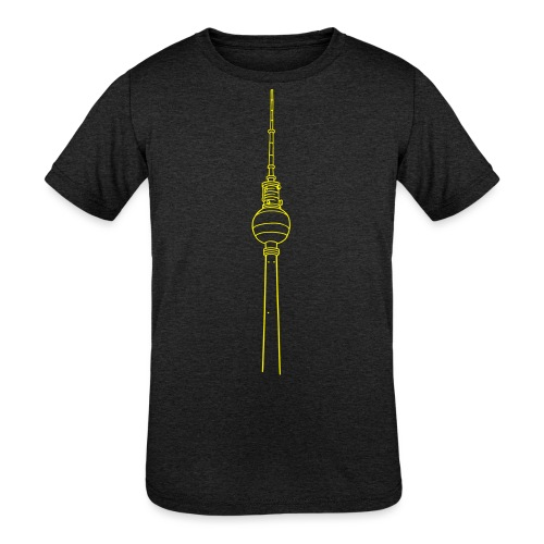 Berlin TV Tower - Kids' Tri-Blend T-Shirt