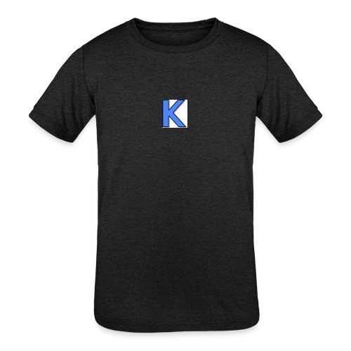 Kickstarkid K - Kids' Tri-Blend T-Shirt