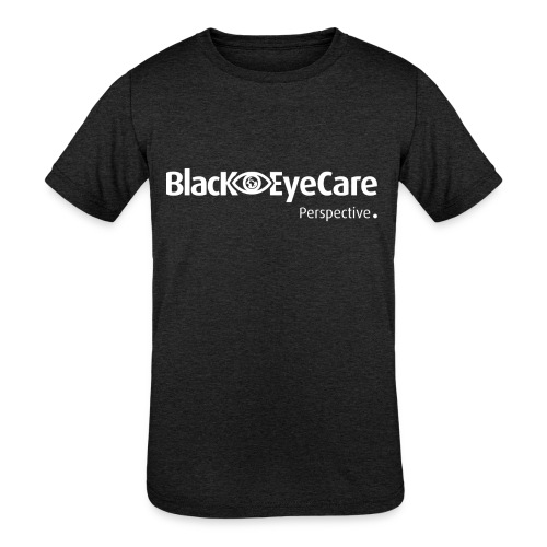 02 BlackEYeCareLogo Transparent 2 - Kids' Tri-Blend T-Shirt