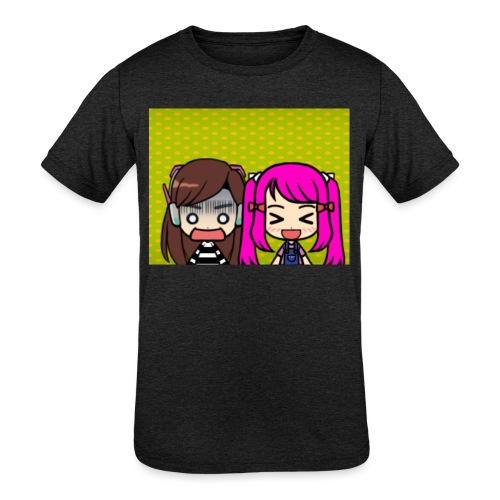 Phone case merch of jazzy and raven - Kids' Tri-Blend T-Shirt