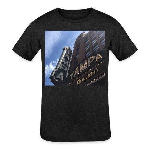 Tampa Theatrics - Kid's Tri-Blend T-Shirt