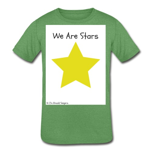 Hi I'm Ronald Seegers Collection-We Are Stars - Kids' Tri-Blend T-Shirt