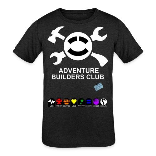 Adventure Builders Club - Kids' Tri-Blend T-Shirt