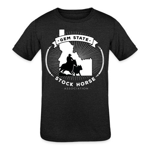 Sunburst Logo - Kids' Tri-Blend T-Shirt