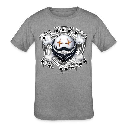 in beard we trust - Kids' Tri-Blend T-Shirt