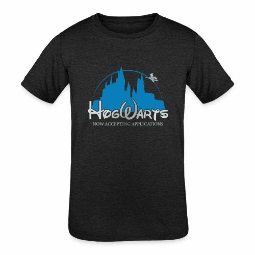 Castle Mashup - Kids' Tri-Blend T-Shirt