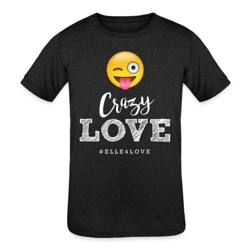 Crazy Love - Kids' Tri-Blend T-Shirt