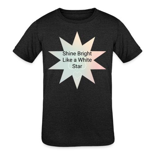 Photo 1514476838633 - Kids' Tri-Blend T-Shirt