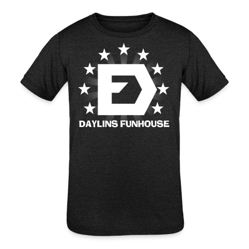 DF Classic Logo - Kids' Tri-Blend T-Shirt
