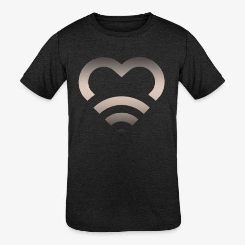 I Heart Wifi IPhone Case - Kids' Tri-Blend T-Shirt