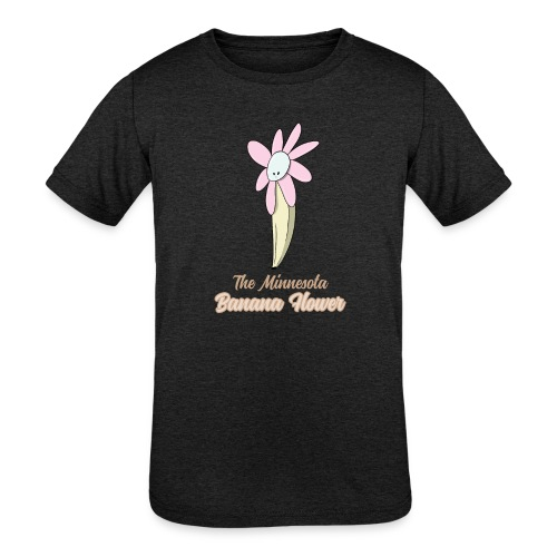 The Minnesota Banana Flower - Kids' Tri-Blend T-Shirt