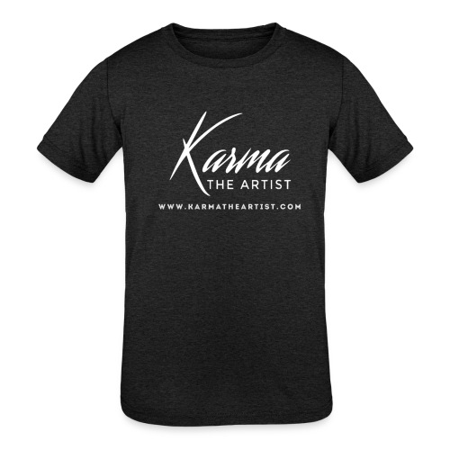 Karma - Kids' Tri-Blend T-Shirt