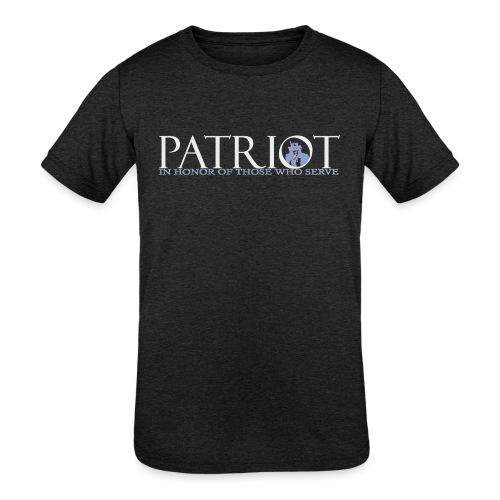 PATRIOT-SAM-USA-LOGO-REVERSE - Kids' Tri-Blend T-Shirt