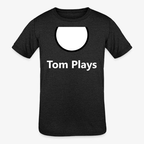 TomPlaysCircle - Kids' Tri-Blend T-Shirt