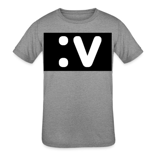 LBV side face Merch - Kids' Tri-Blend T-Shirt