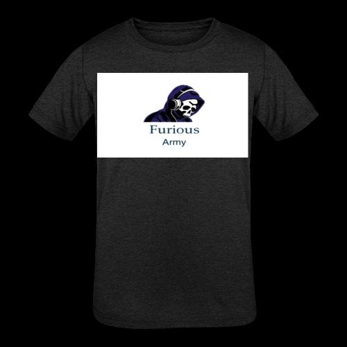 savage hoddie - Kids' Tri-Blend T-Shirt