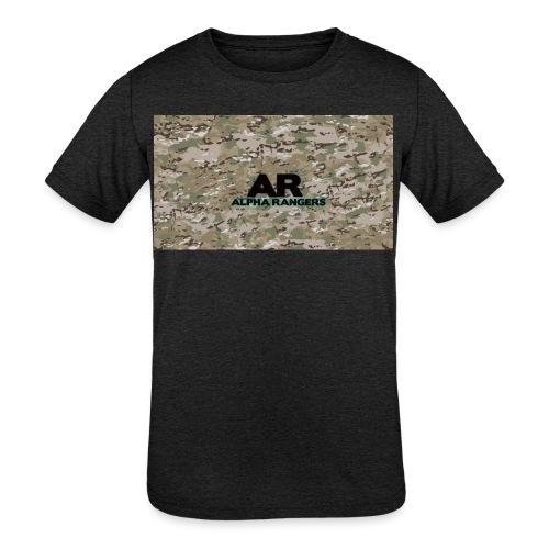 Alpha Ranger Apperal - Kids' Tri-Blend T-Shirt