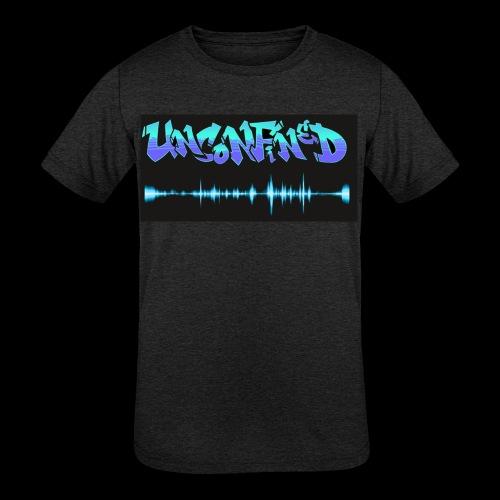 unconfined design1 - Kids' Tri-Blend T-Shirt