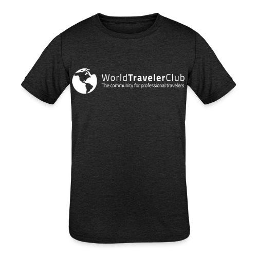 wtc logo - Kids' Tri-Blend T-Shirt