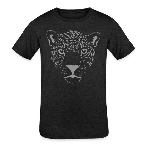jaguar cougar cat puma panther leopard cheetah - Kids' Tri-Blend T-Shirt