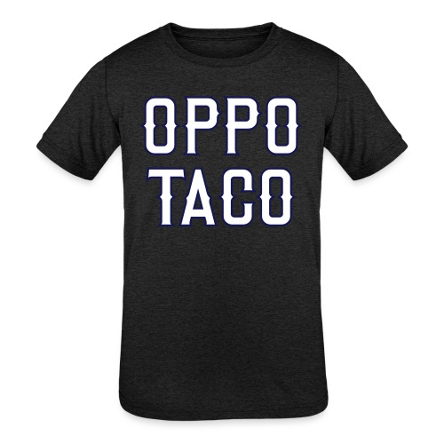 Oppo Taco (Los Angeles) - Kids' Tri-Blend T-Shirt