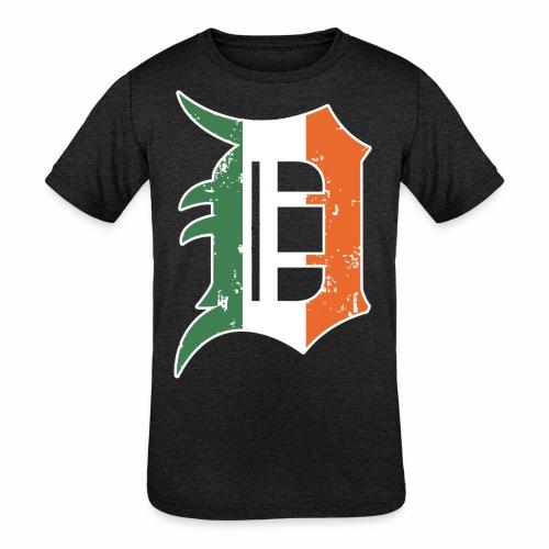 IRISH D - Kids' Tri-Blend T-Shirt