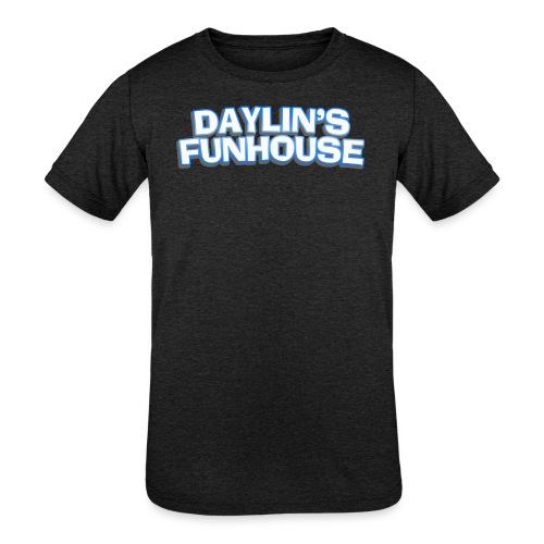 Daylins Funhouse plain logo - Kids' Tri-Blend T-Shirt