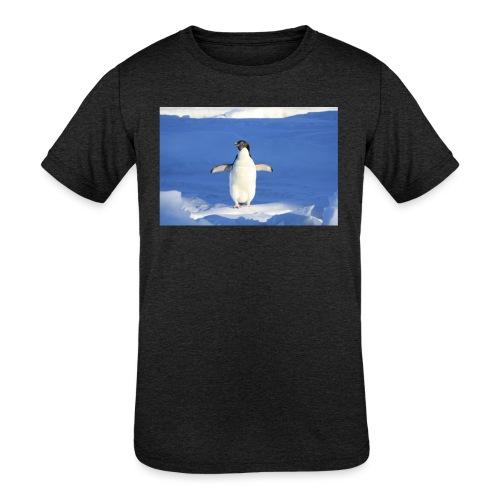 Mr. Penguin - Kids' Tri-Blend T-Shirt