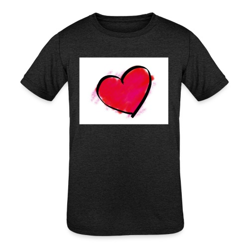 heart 192957 960 720 - Kids' Tri-Blend T-Shirt