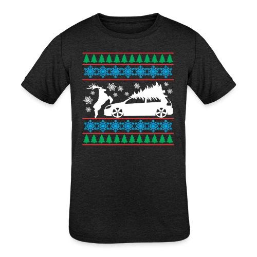MK6 GTI Ugly Christmas Sweater - Kids' Tri-Blend T-Shirt