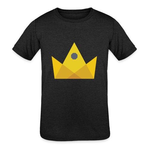 I am the KING - Kids' Tri-Blend T-Shirt