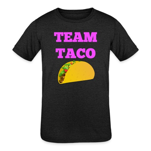 TEAMTACO - Kids' Tri-Blend T-Shirt
