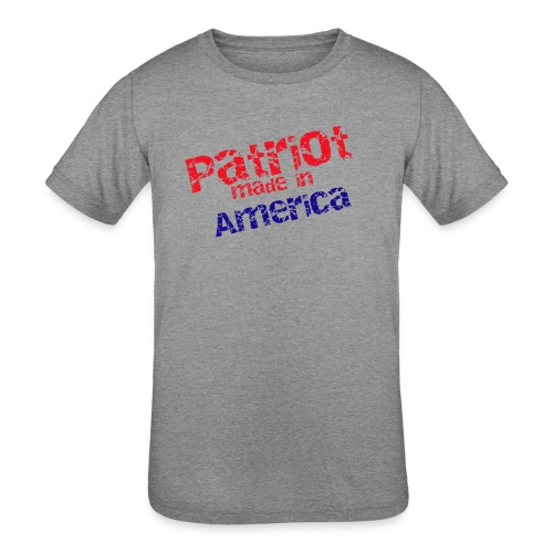 Patriot mug - Kids' Tri-Blend T-Shirt