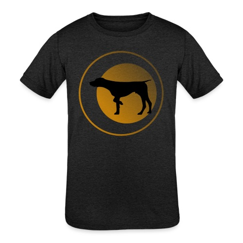German Shorthaired Pointer - Kids' Tri-Blend T-Shirt