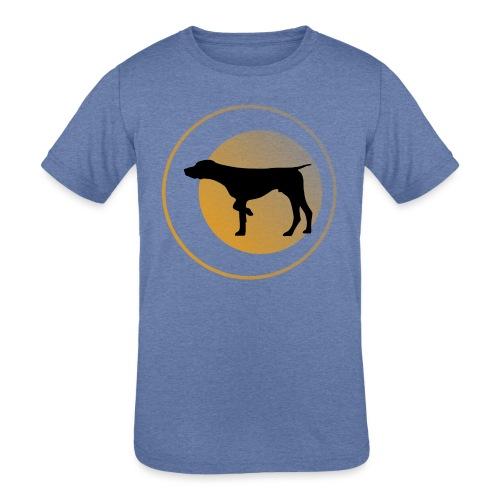 German Shorthaired Pointer - Kids' Tri-Blend T-Shirt