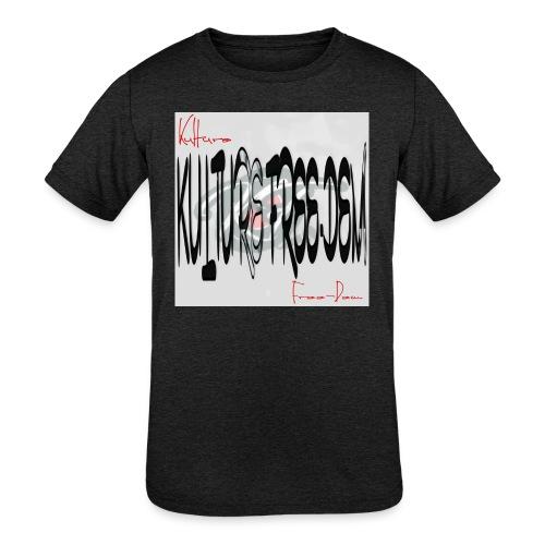 Kulture Freedem signature - Kids' Tri-Blend T-Shirt