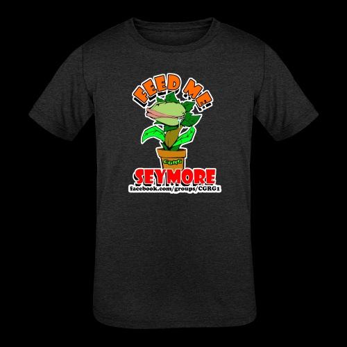 FEED ME SEYMORE - Kids' Tri-Blend T-Shirt