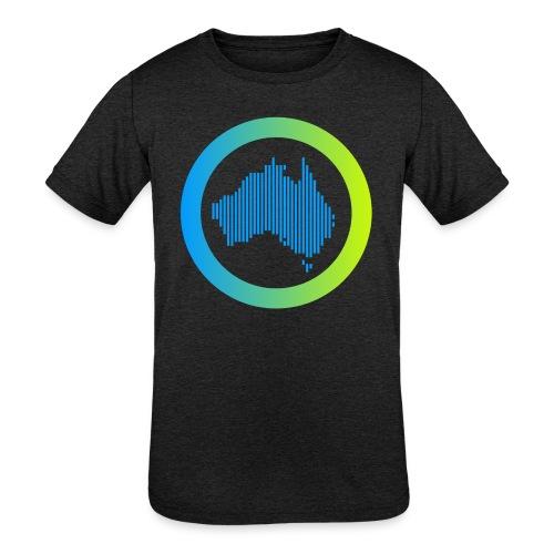 Gradient Symbol Only - Kids' Tri-Blend T-Shirt