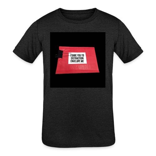 Distraction Envelope - Kids' Tri-Blend T-Shirt