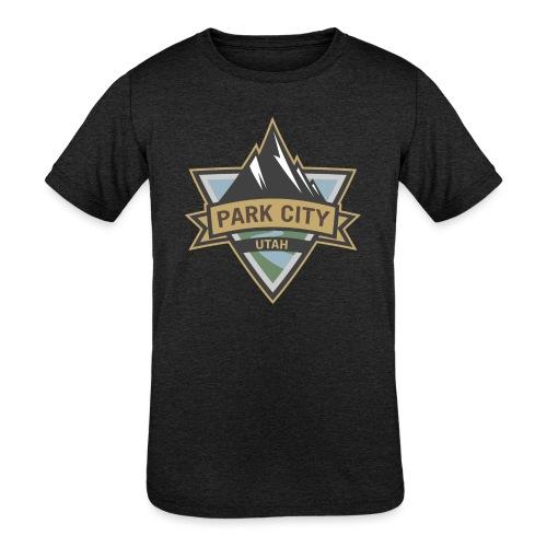 Park City, Utah - Kids' Tri-Blend T-Shirt