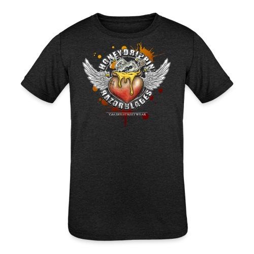 Honeydripping razorblades - Kids' Tri-Blend T-Shirt