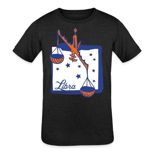 Libra - Kids' Tri-Blend T-Shirt