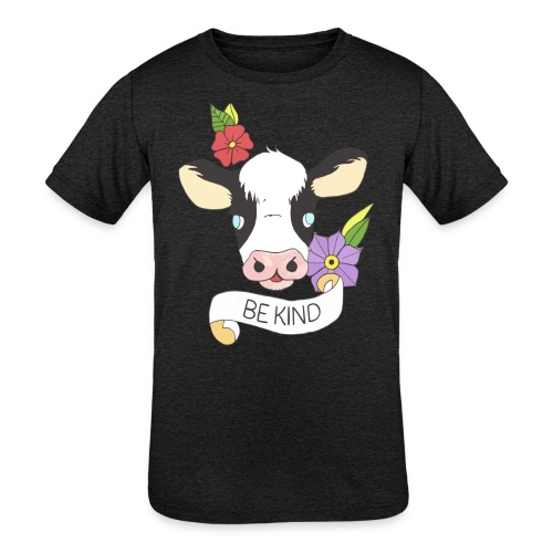 Be kind - Kids' Tri-Blend T-Shirt
