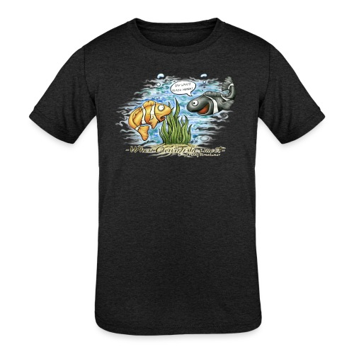 when clownfishes meet - Kids' Tri-Blend T-Shirt