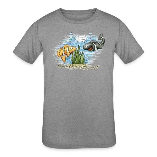 when clownfishes meet - Kids' Tri-Blend T-Shirt